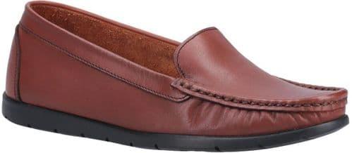 Fleet & Foster Tiggy Slip On Ladies Shoes Tan